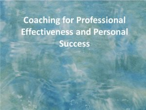 coaching-professional-effectiveness-personal-success